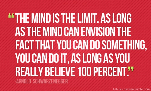 """as long as the mind can envision the fact that you can do something, you can do it."""