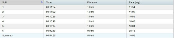 Check out those negative splits!Ignore the actual numbers; just notice they're going in the right direction.
