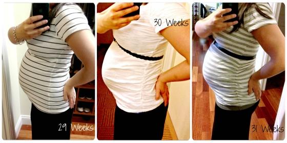 Weeks 29 - 31