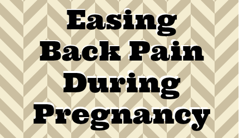 Easing Back Pain